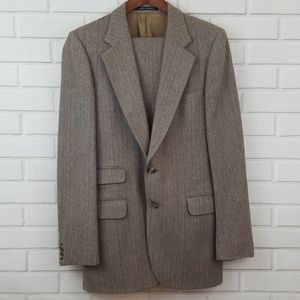 Yves Saint Laurent Tweed Suit Made in France